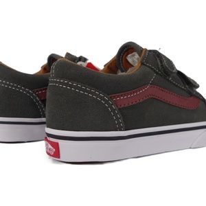 VANS Old Skool V Suede (Gunmetal Madder Brown) Boutique